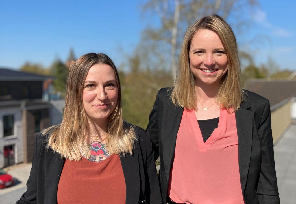 Nicole Fischer & Stefanie Bließ vom RubiN-Netzwerk