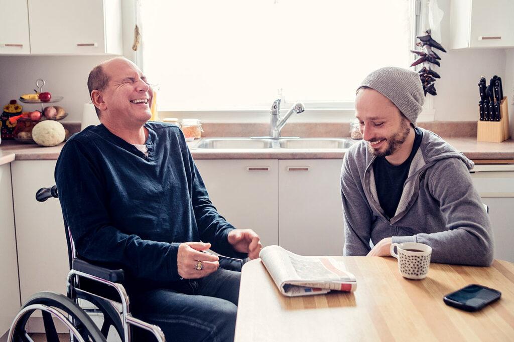 Wohngruppe im plexxonhaus Westerstede - Gemeinsames barrierefreies Leben